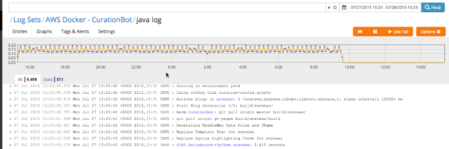 dev@cloudburo | Docker Small Hints #5: Using Cloudwatch Alarms for
