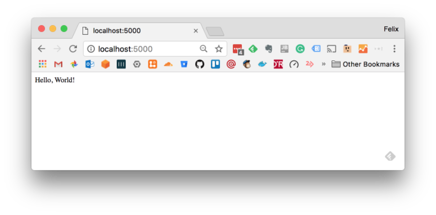dev@cloudburo | Tutorial: React Application with a Python JSON