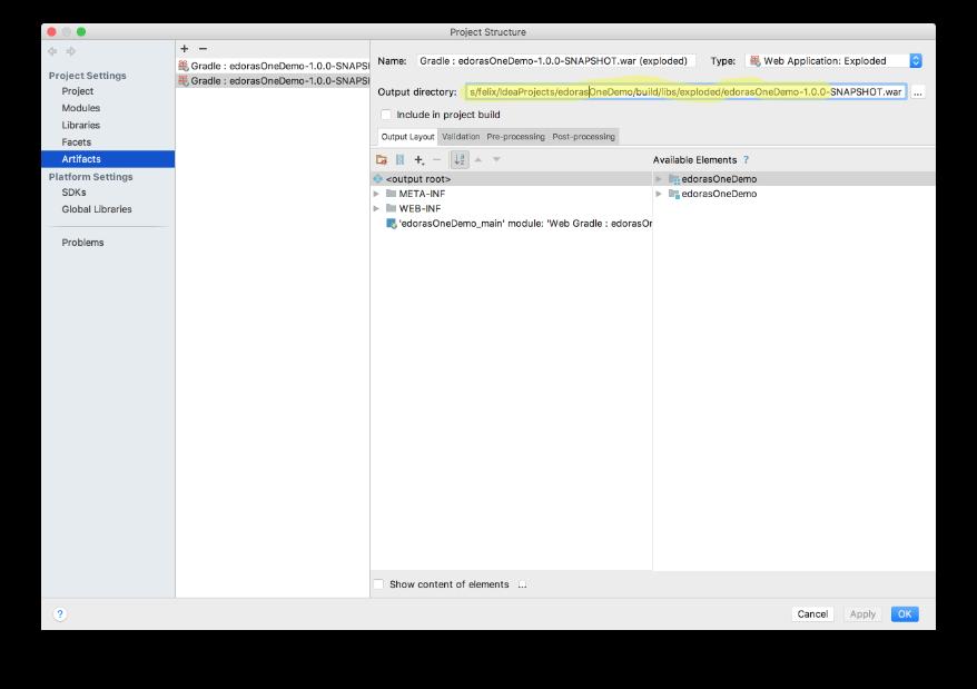 dev@cloudburo | Intellij: Gradle Project Fails To Deploy Tomcat